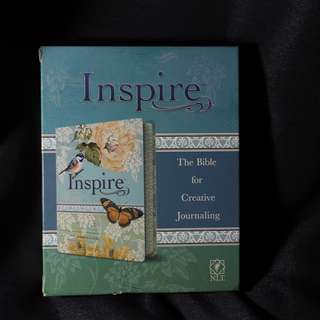Inspire: Bible for Creative Journaling