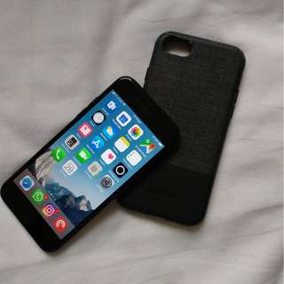 iPhone 7 128GB  + 2 tempered glass + case