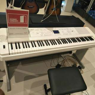 YAMAHA digital piano dgx 660 b