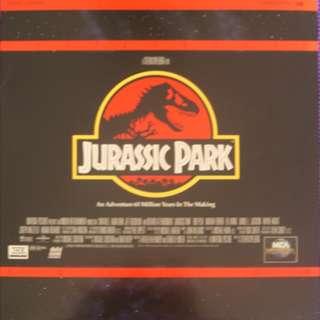 Laser Disc - Jurassic Park