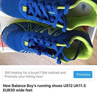 New balance boys shoes