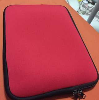11inch Ipad mini Red sleeve pouch