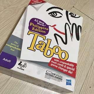 Taboo game