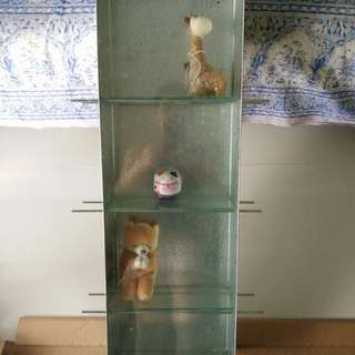 Ikea 4 tier display cabinet (small)