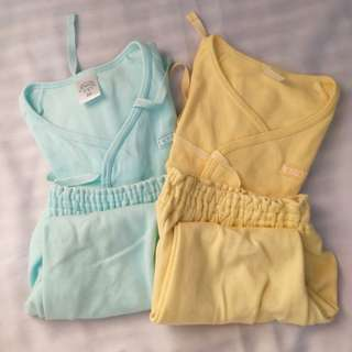 Preloved Authentic Enfant Baby Pajamas