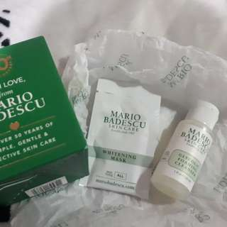 Mario Badescu Foaming Cleanser and Mask