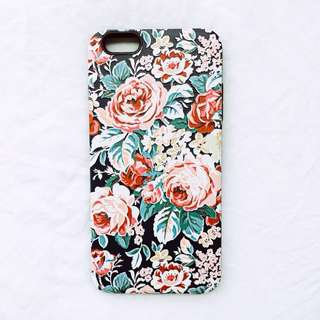 Embossed Floral Case