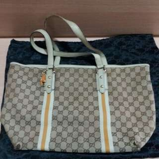 Gucci shoulder bag 傾咩袋 奶粉袋 Authentic
