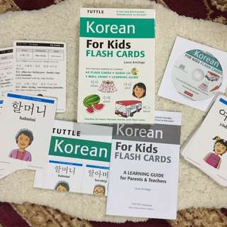 Korean Flash Cards for Kids