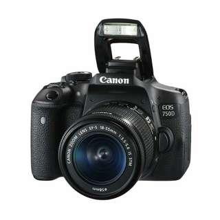 Bisa Kridit Canon EOS 750D Kit EF-S 18-55mm Tanpa Kartu Kridit