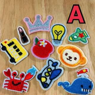 All at $4 - Iron On Patches
