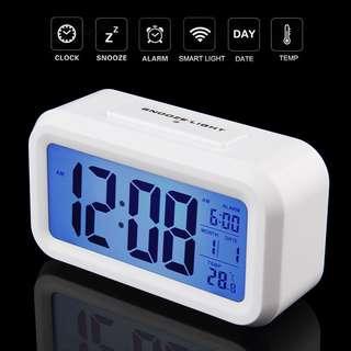 【Out Stock】Led Digital Electronic Alarm Clock Backlight