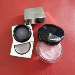 RMK and  Shiseido Eyeshadows