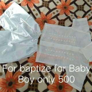 Barong for Baby Boy!