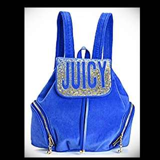 💥Reduce price-Juicy Couture Velour Backpack