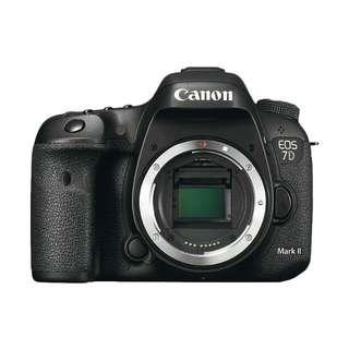 Bisa Kridit Canon EOS 7D Mark II B/O + W-E1 Tanpa Kartu Kridit