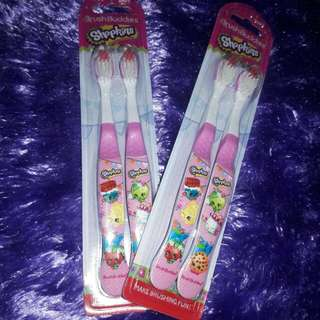 Shopkins toothbrush