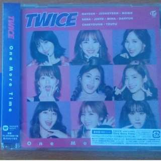 TWICE One More Time Regular Version (W/o photocard)