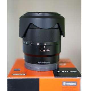 Sony Carl-Zeiss Vario-Tessar T* E 16-70mm f/4 ZA OSS