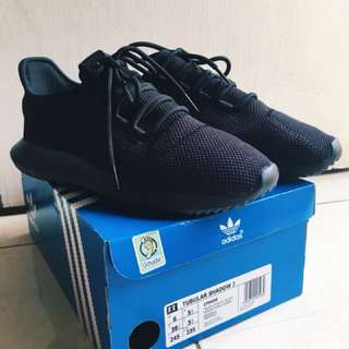 Adidas Tubular Shadow all black