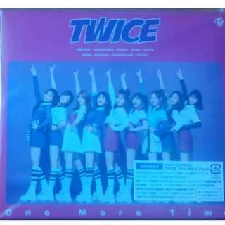 TWICE One More Time LIMITED EDITION A VER. (W/o photocard)