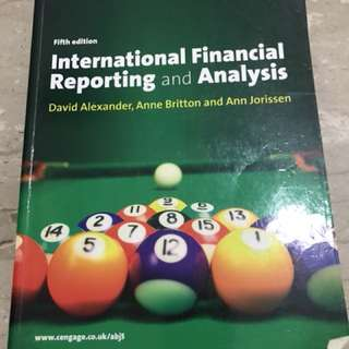 Textbook - International Financial Reporting and Analysis