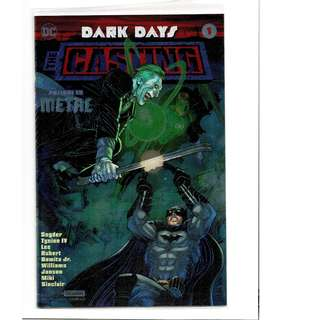 DC Comics Dark Days The Casting #1 Convention Exclusive Foil Cover Prelude to Metal Batman Sealed