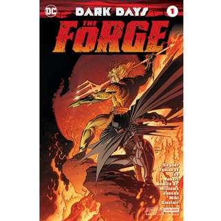 DC Comics Dark Days The Forge #1 Convention Exclusive Foil Cover Prelude to Metal Batman Sealed