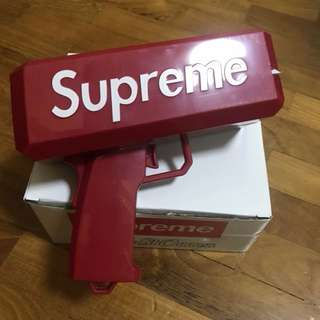 Supreme money gun cash cannon