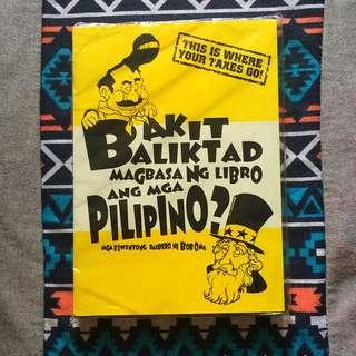 Bob Ong - Bakit balikad magbasa ng libro ang mga Pilipino?