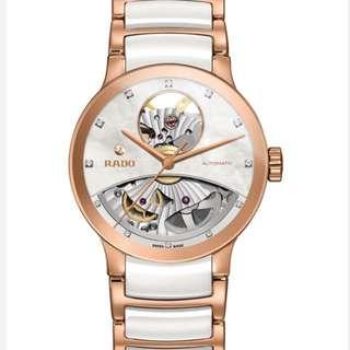 RADO diamond ceramic watch 鑽石搪瓷手錶湯唯廣告款