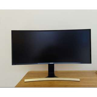 "Samsung ultra wide 34"" monitor - LS34E790CNS/XS"