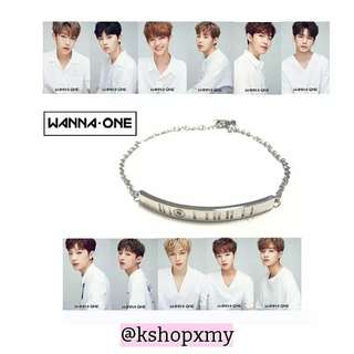 Wanna One Stainless Steel Bracelet