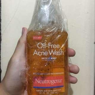 2pcs Neutrogena Oil - Free Acne Wash (9.1 FL OZ.)
