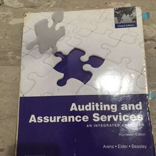 Textbook - Auditing and Assurance Services
