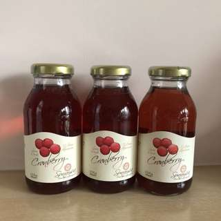 光之果 Sunraysia 紅莓汁 Cranberry Juice 200ml 3支