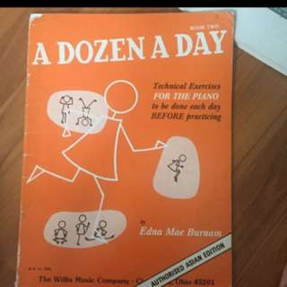 A Dozen A Day- Piano practice book