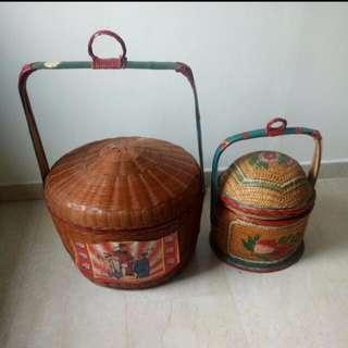 Traditional wedding baskets