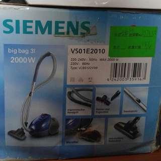 Siemens 2000w 吸塵器配件齊全連原裝吸塵袋5個