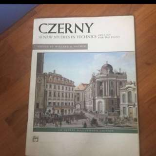 Czerny- 30 new studies in technics (Piano Edition)