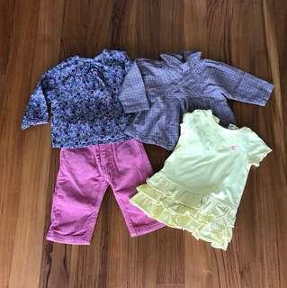 Set of Gorgeous Petit Bateau clothes 3M/6M