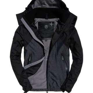 Superdry 極度乾燥 Arctic Hooded Cliff Hiker Hybrid Jacket