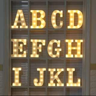 Alphabet Lighting