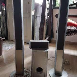Pioneer home entertainment speakers