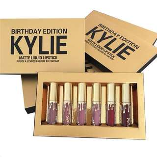 💋KYLIE BIRTHDAYS LIMITED EDITION SET 6 IN 1💋