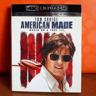 USA Blu Ray Slipcase - American Made 4K