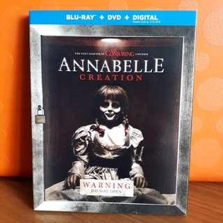 USA Blu Ray Slipcase - Annabelle Creation