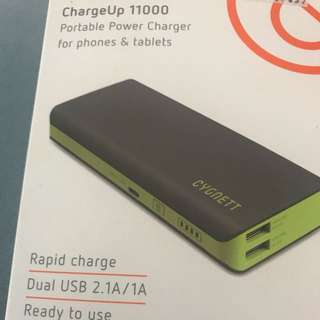 Cygnett ChargeUp 11000 portable charger power bank