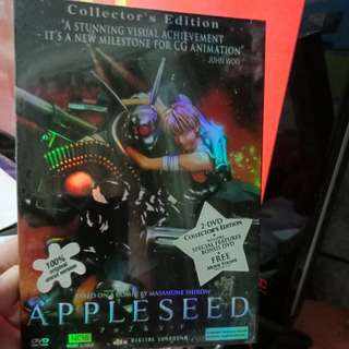 Appleseed DVD Collector Edition Never Been Open
