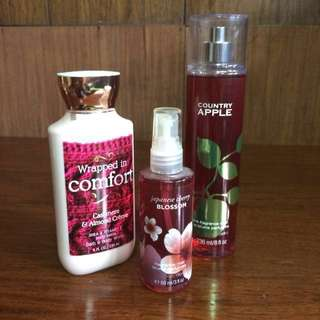 Bath & Body Works Set - Perfume and Lotion